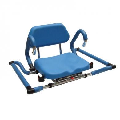 Sedia girevole per vasca da bagno per disabili medicare - Prodotti per pulire vasca da bagno ...