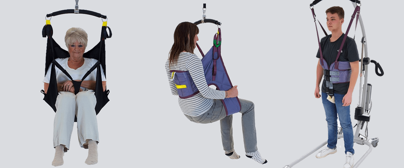 Imbracature per sollevatori disabili