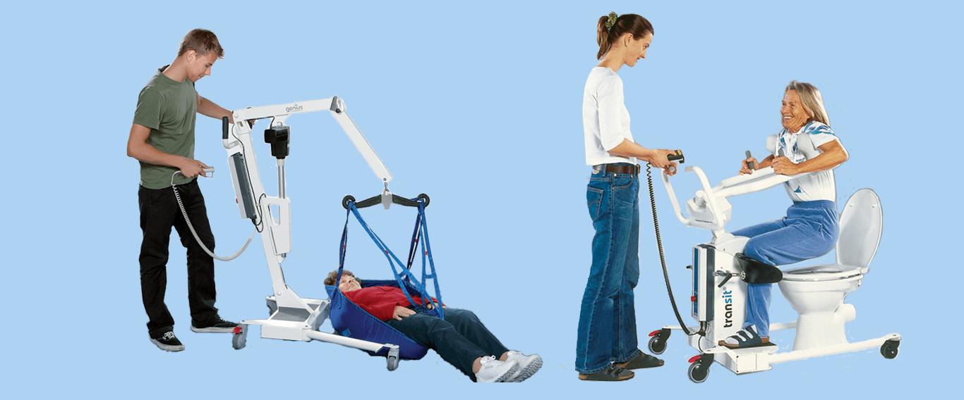 Sollevatori per disabili e anziani